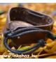 Bőr Karkötő Tagua Dió Díszítéssel  BK8