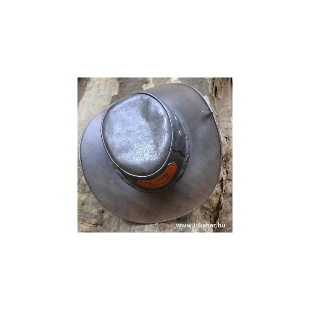 Bőr kalap