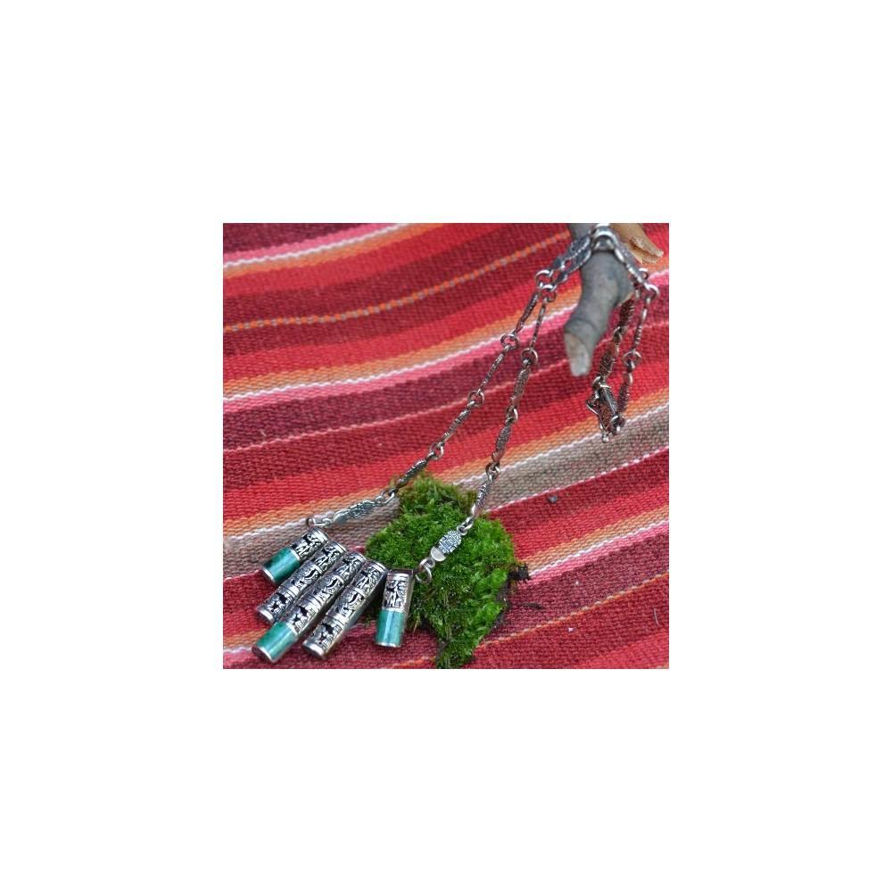 Inka ezüst nyaklánc 303