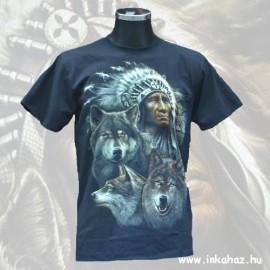 Farkasmintás póló
