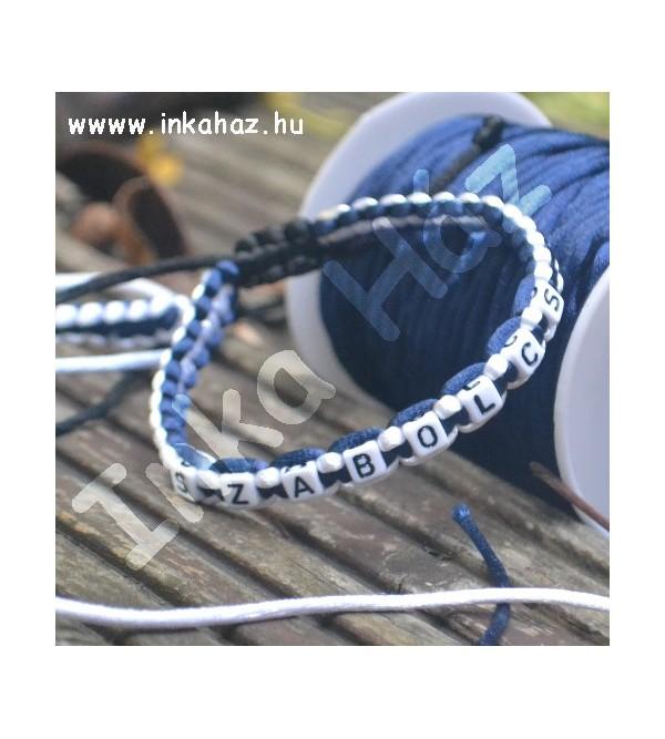 Névre szóló karkötő KF