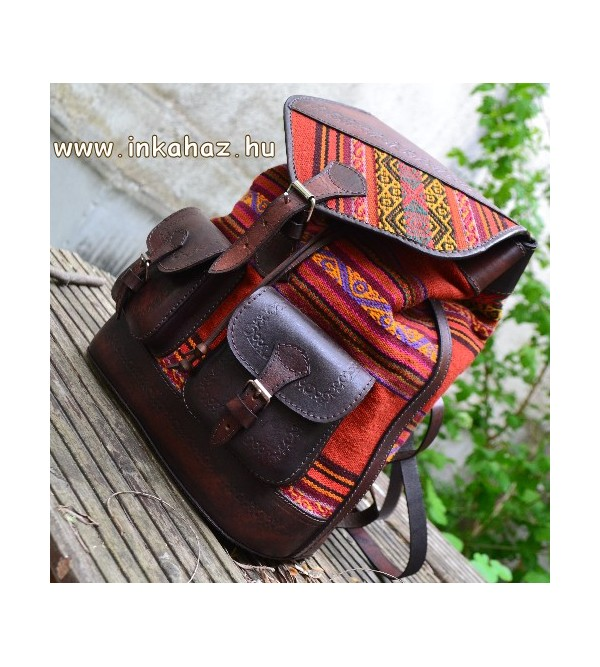 Leather Backpack BH01